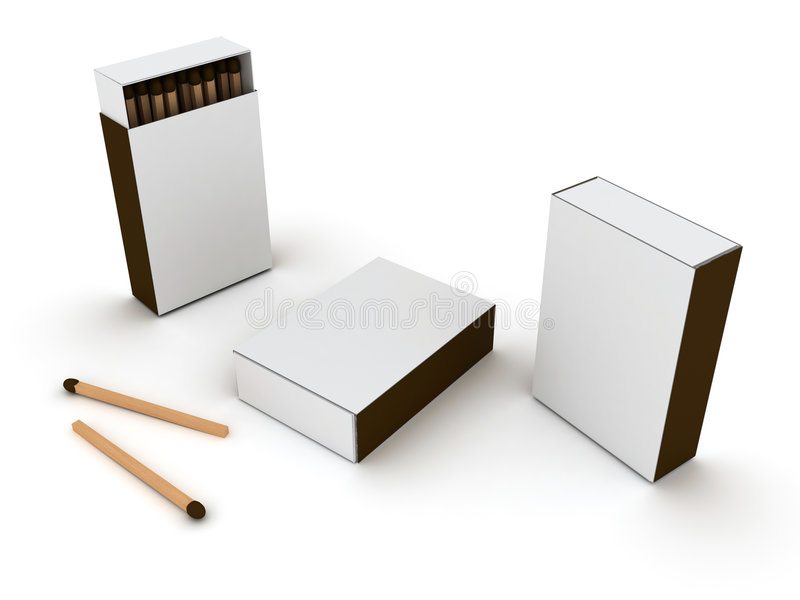 Allumettes illustration stock