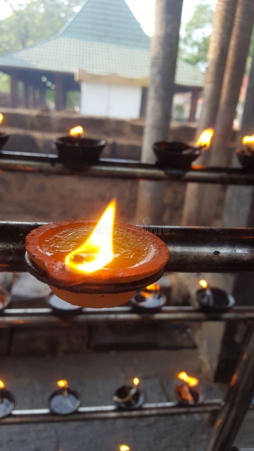 Allumez dans Anuradhapura/Sri Lanka photographie stock
