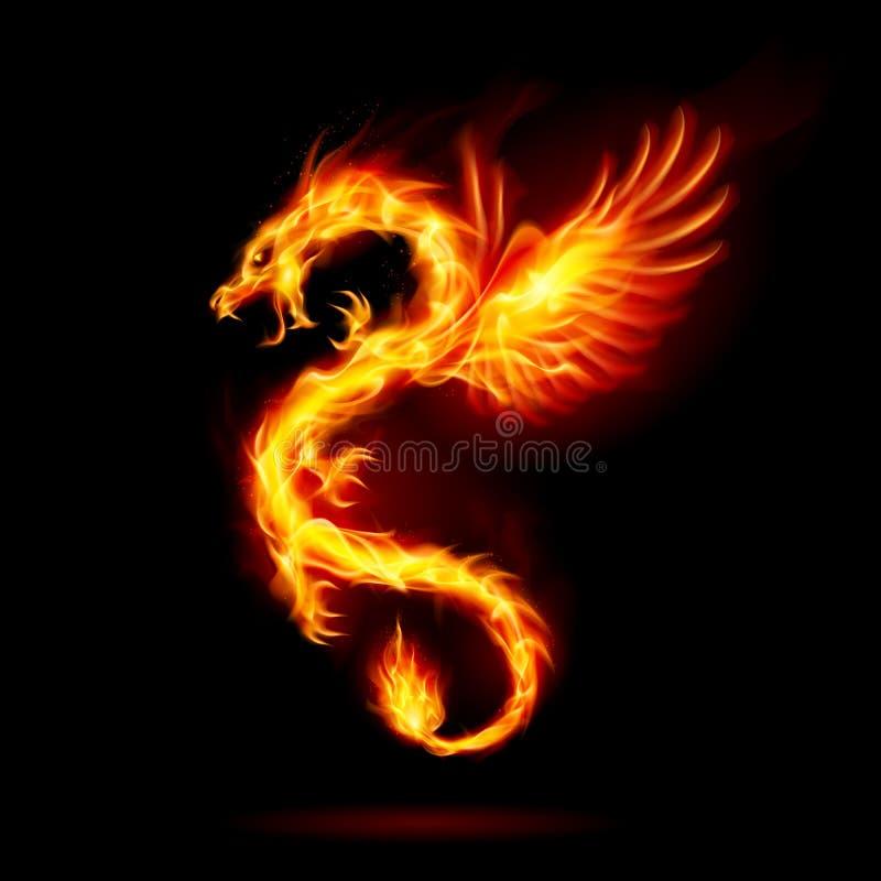 Allumez le dragon illustration libre de droits