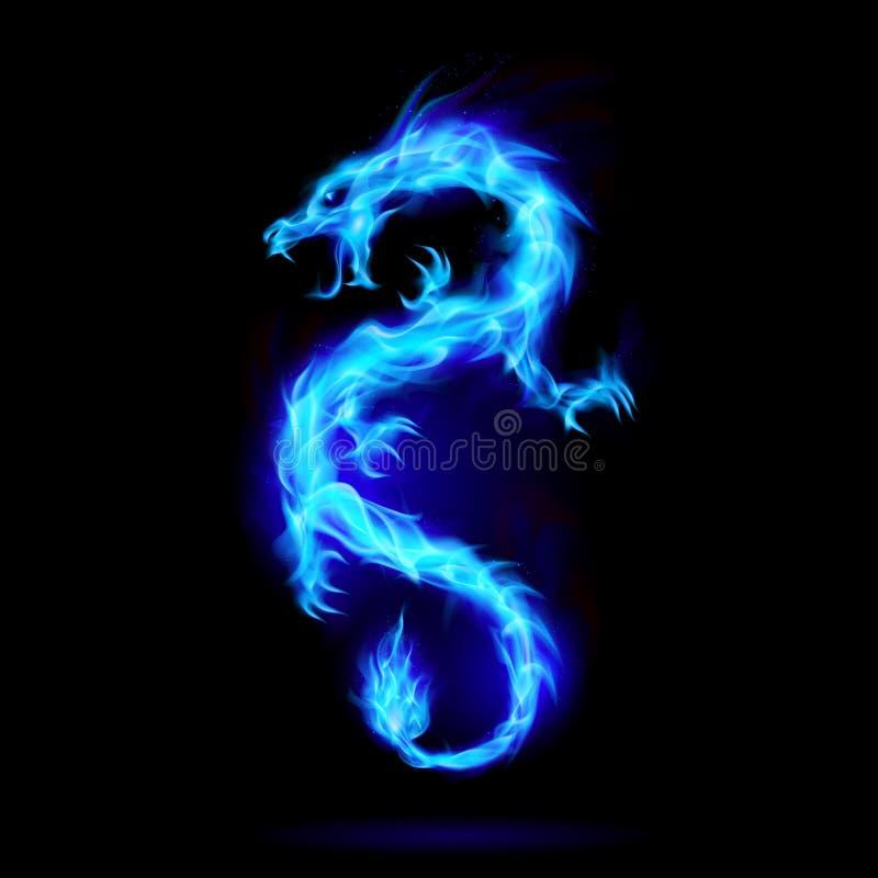 Allumez le dragon illustration de vecteur