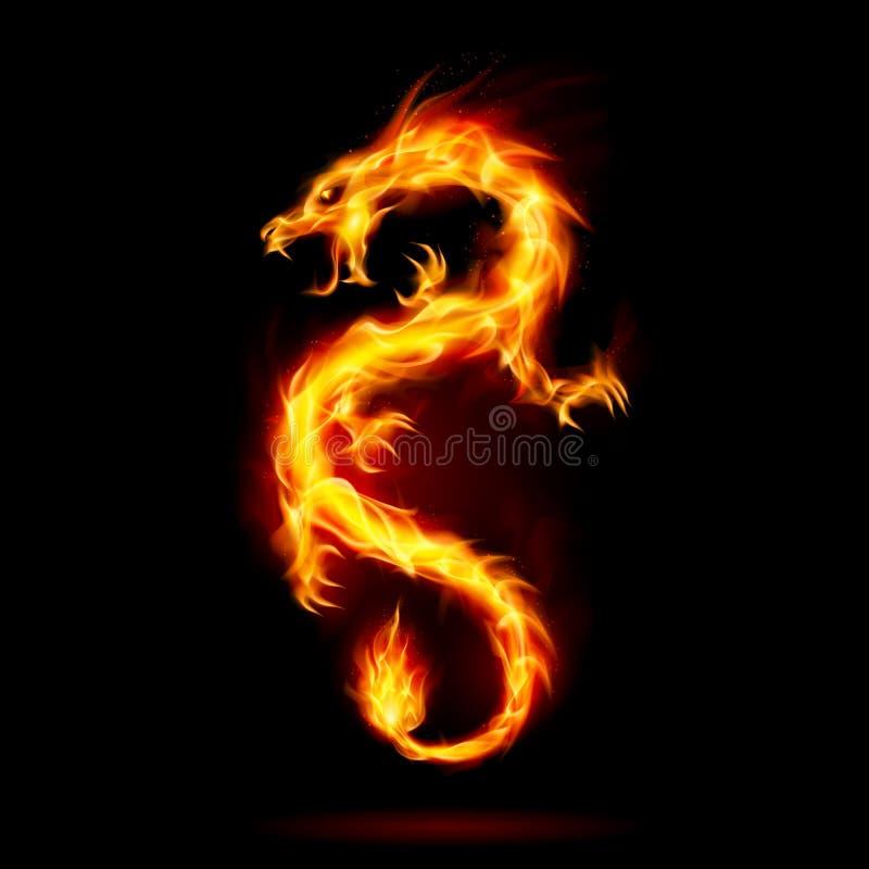 Allumez le dragon illustration stock