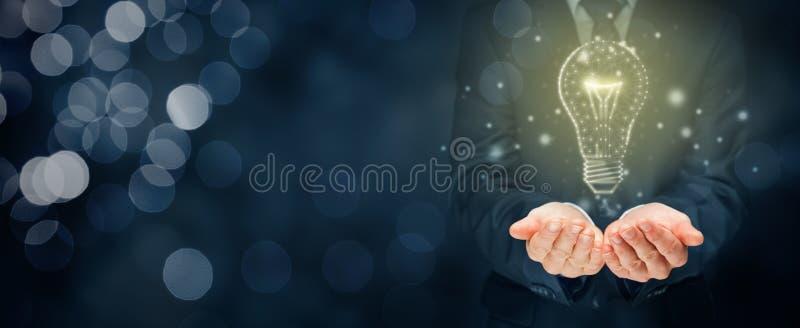 Allumez les concepts de cr?ativit?, d'id?e et d'intelligence photo stock