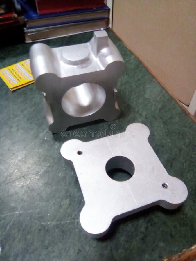 Alluminium wzór obrazy stock
