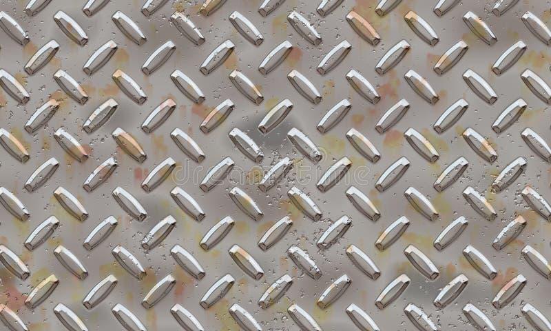 Alluminiummetallplatta Arkivfoto