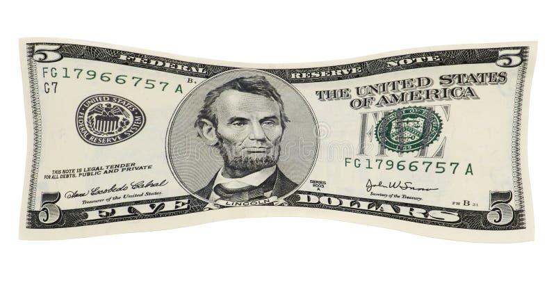 Allungamento dei vostri soldi immagini stock