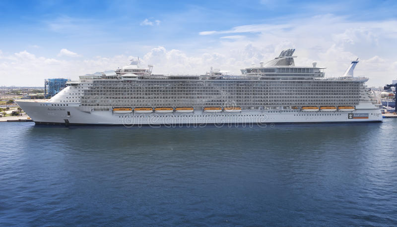 Allure of the Seas stock photography