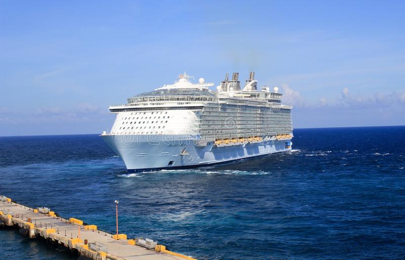 Allure of the Seas stock photos