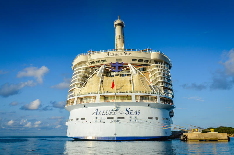 Allure of the Seas - Labadee, Haiti stock image