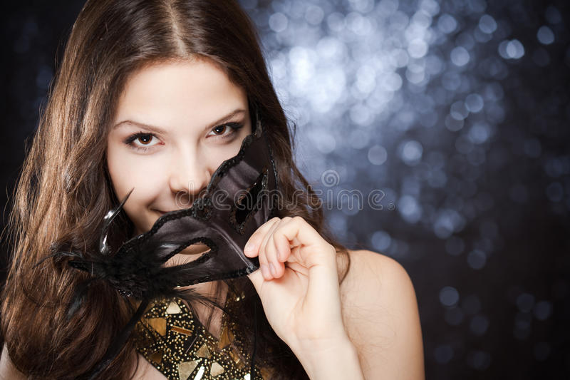 Alluring beauty. stock photography
