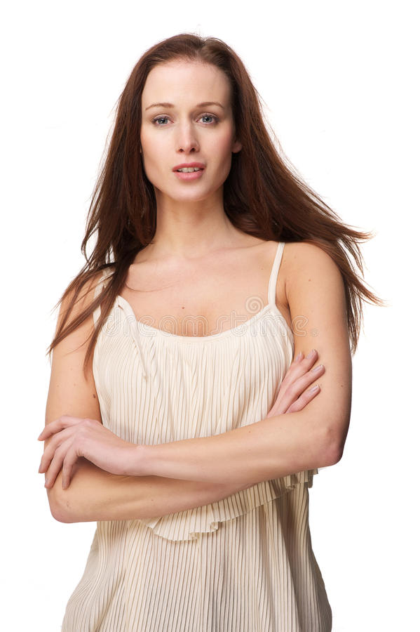 Alluring Beauty Woman royalty free stock photo