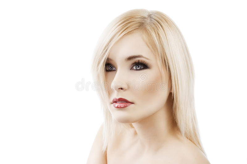 Download Alluring Blond With Hair Style Stock Photo - Image: 22645734