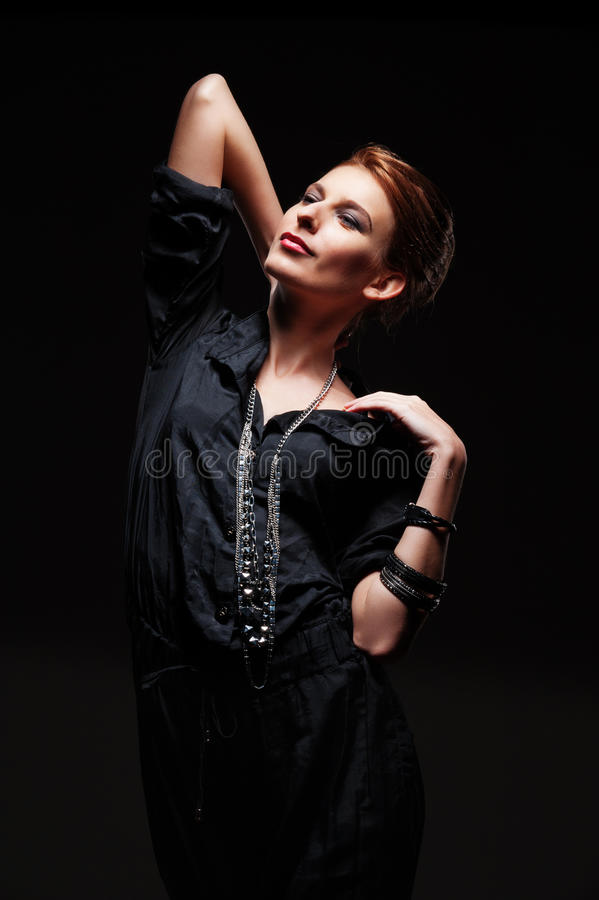 Download Alluring Young Model Posing Stock Photo - Image: 27914796