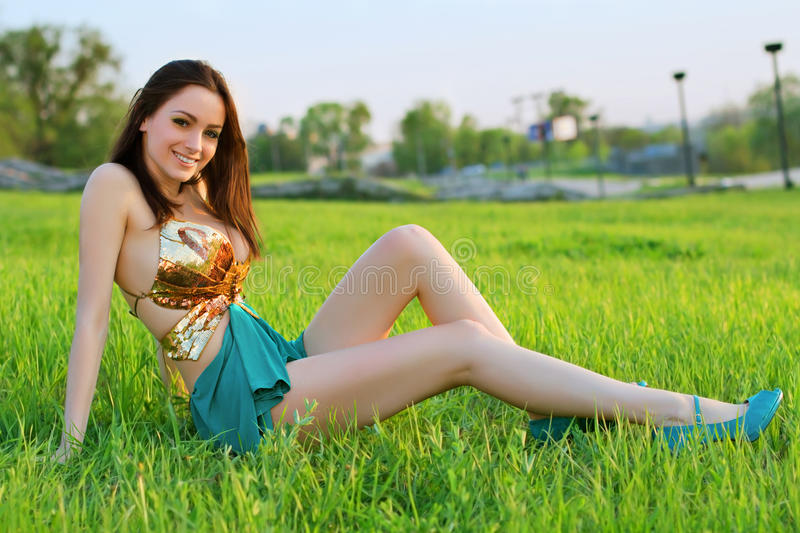 Download Alluring young woman stock photo. Image of female, model - 30789664