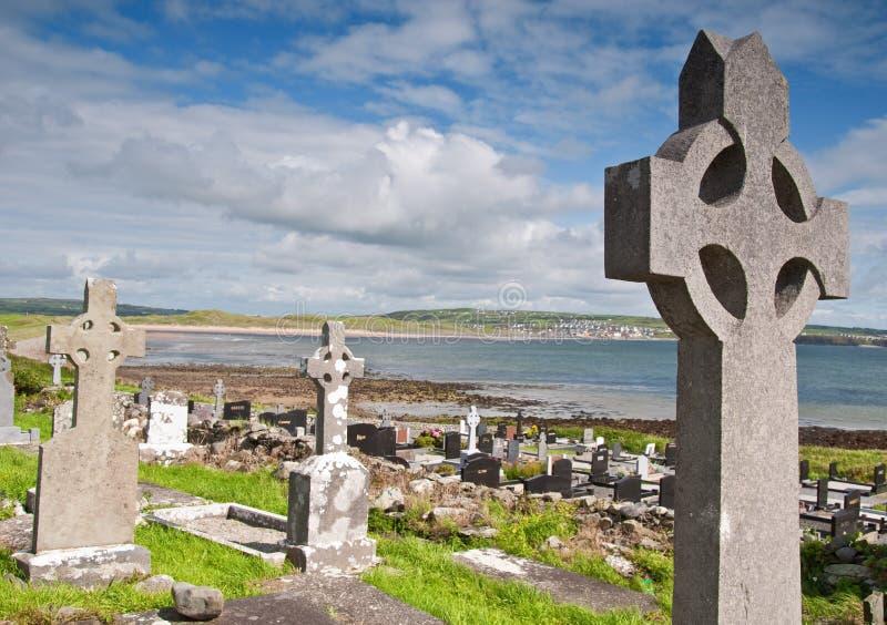 allvarlig västra ireland för kust lokal arkivbild