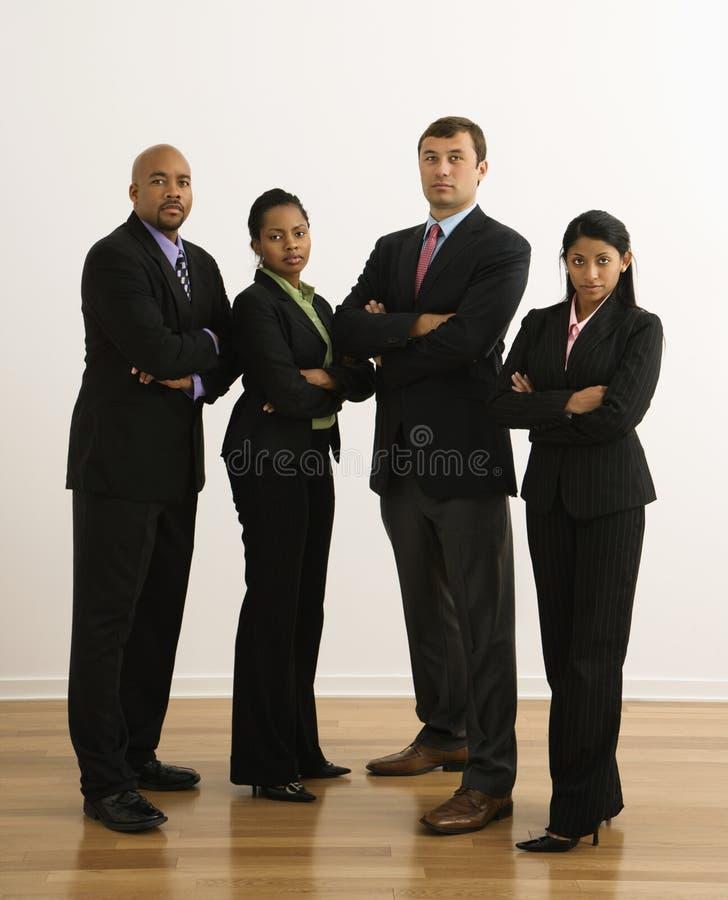 allvarliga businesspeople royaltyfri fotografi