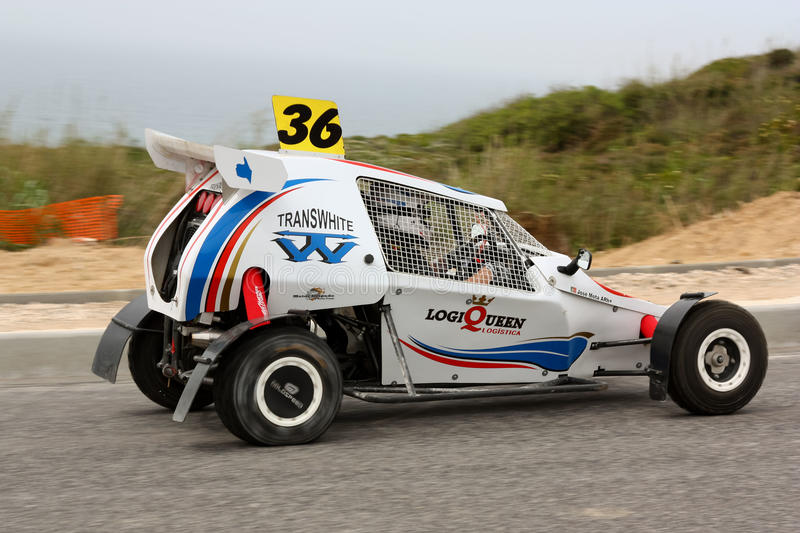Ally Cross Prototype During Rally Sprint Editorial Stock Photo