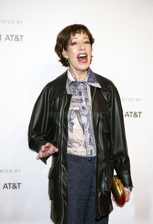 Allyce Beasley na premier 'dela toma um excêntrico no festival de cinema 2019 de Tribeca foto de stock royalty free