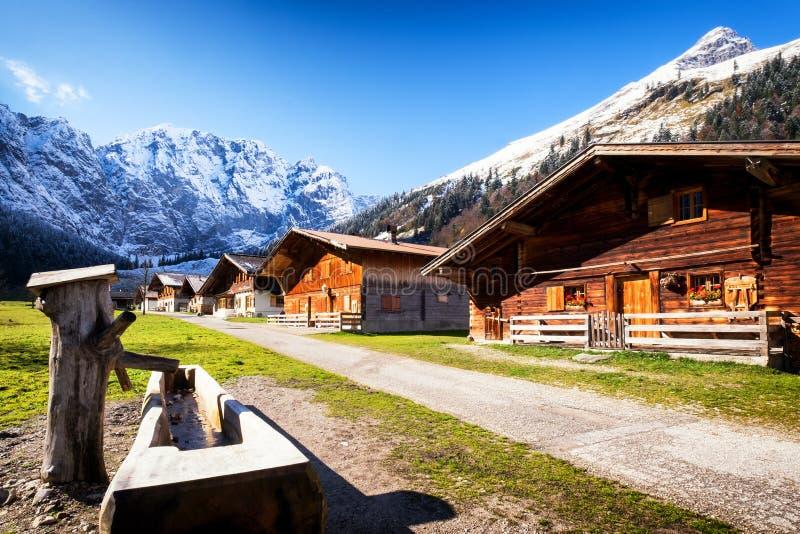 Alm inglese in Austria immagini stock libere da diritti
