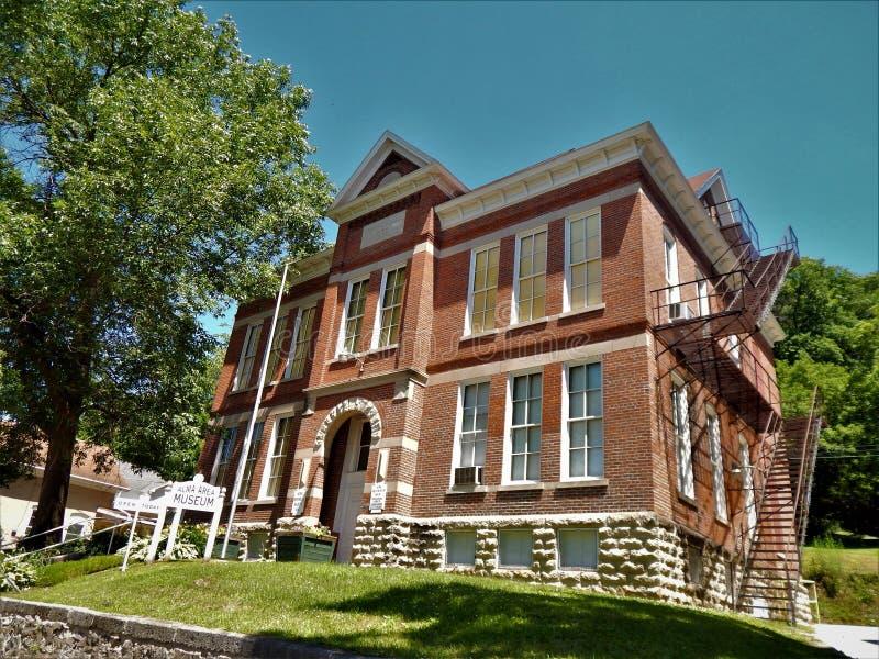 Alma Training School 1802 royaltyfri bild