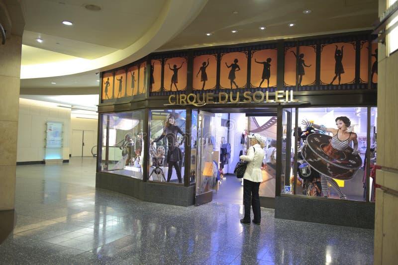 Almacén de Cirque du soleil en el teatro de Kodak fotografía de archivo