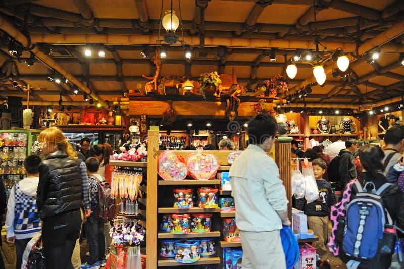 Almacén de Disney en Hong-Kong Disney imágenes de archivo libres de regalías