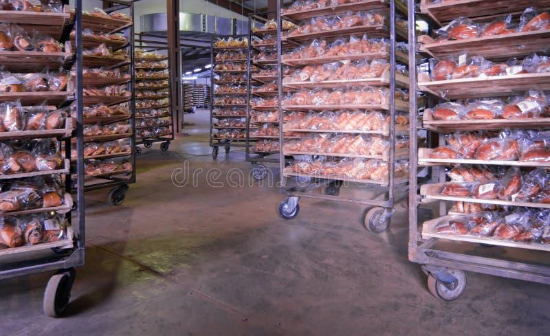 Almacén de la panadería fotos de archivo libres de regalías