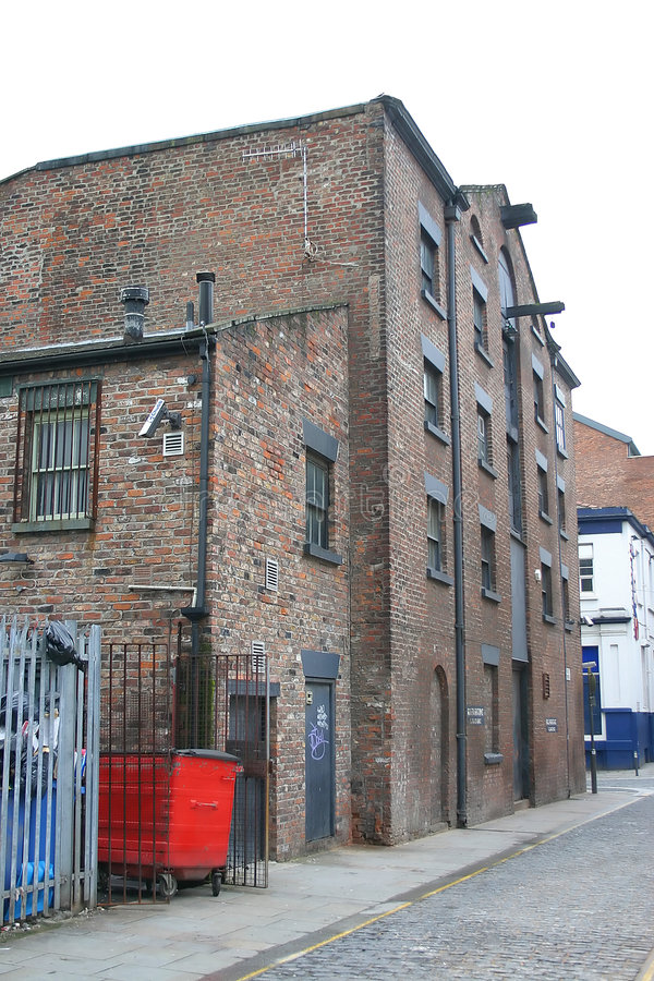 Almacén de Liverpool fotos de archivo