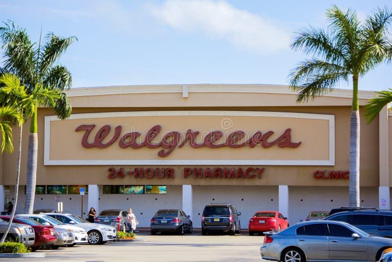 Almacén de Walgreens imagenes de archivo