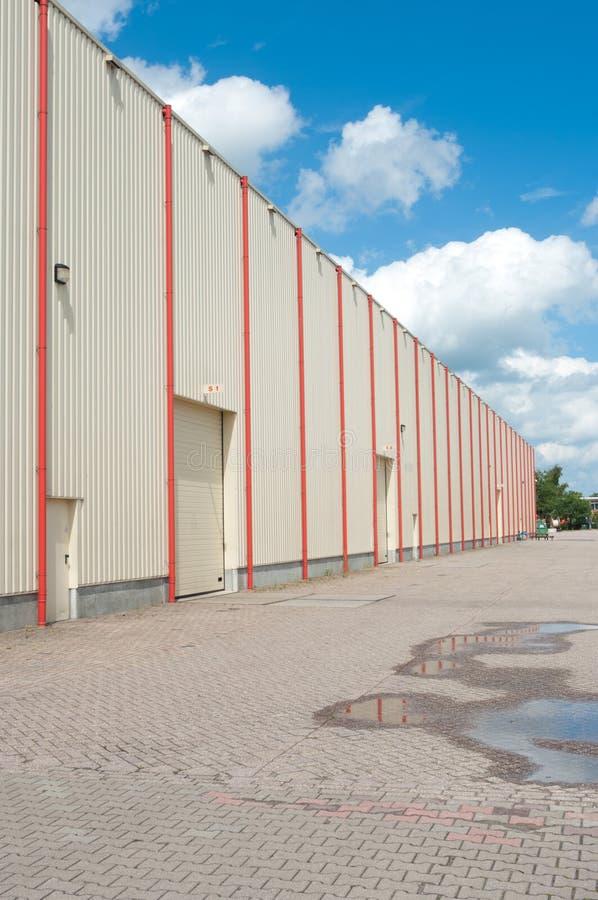 Almacén industrial fotos de archivo