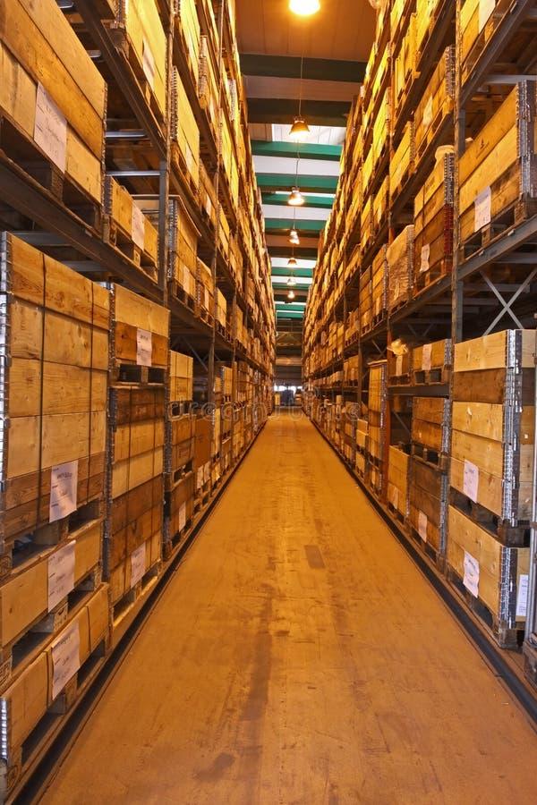 Almacén o stock-in-trade foto de archivo