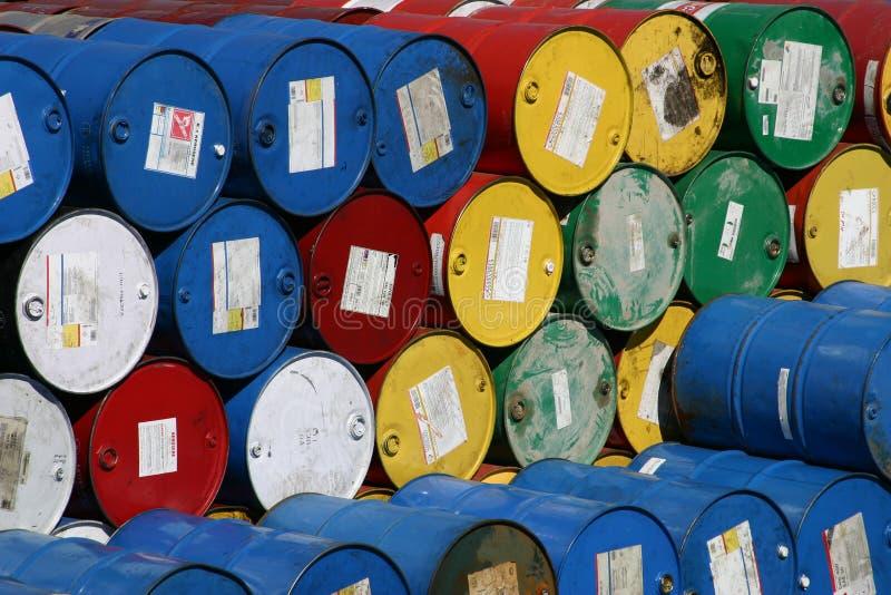 Almacenaje 2 del barril fotografía de archivo