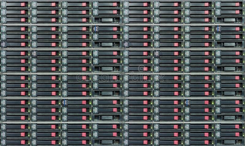 Almacenaje de la nube imágenes de archivo libres de regalías