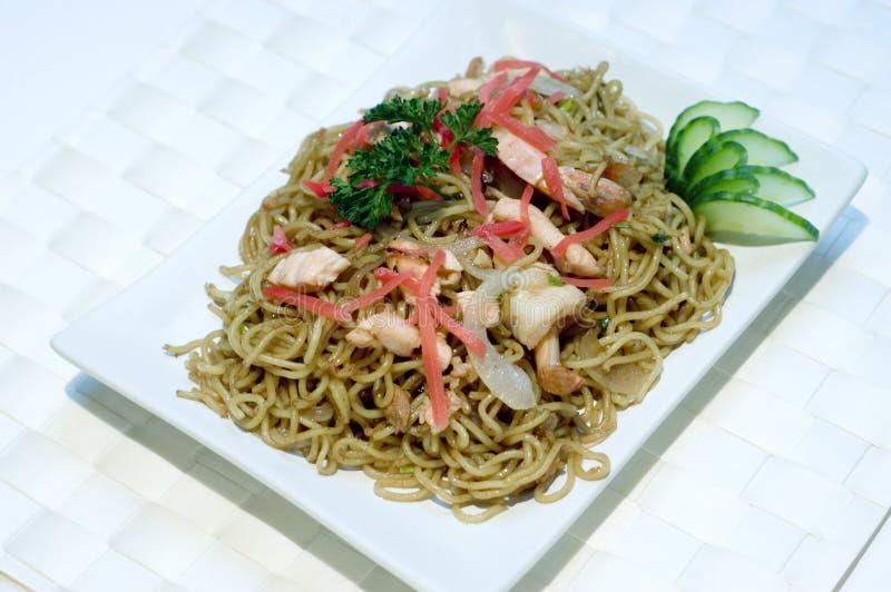 Almacene la foto del alimento japonés, tallarines, PS-43043 imágenes de archivo libres de regalías