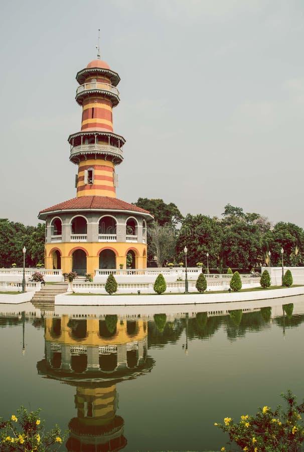 Almacenes de Art Witoonchart, palacio magnífico, Tailandia foto de archivo libre de regalías