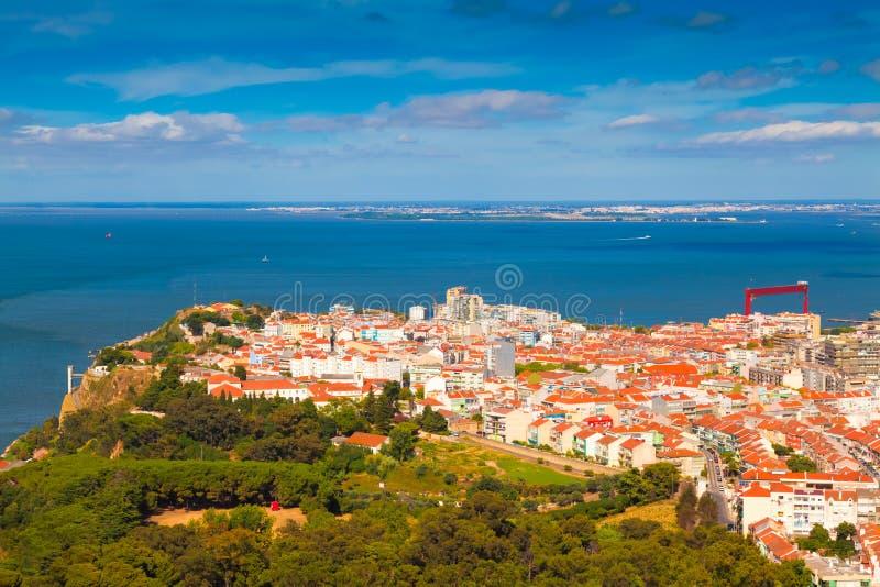 almada Португалия стоковое фото