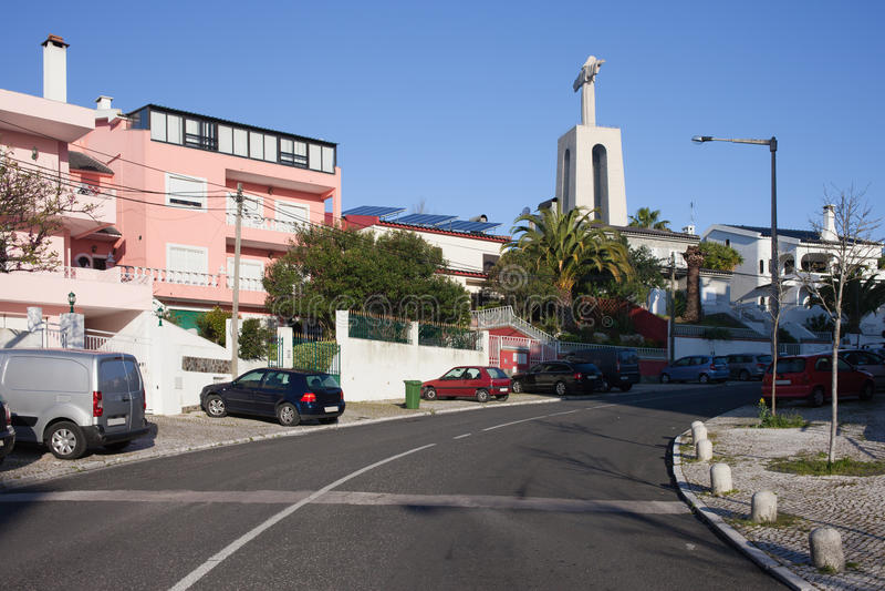 Almada au Portugal photo libre de droits