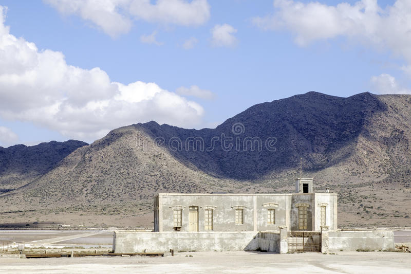 Almadraba de Monteleva, cabo De Gata, Andalusien, Spanien, Europa, salzig lizenzfreie stockfotos