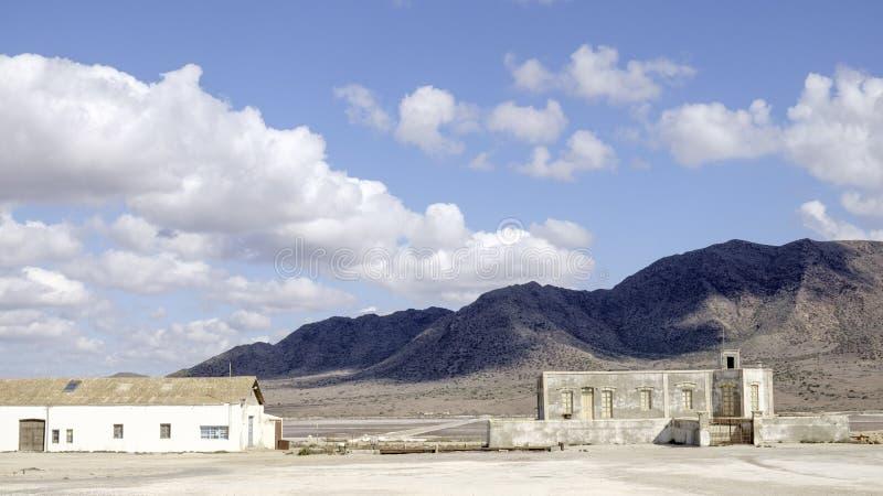 Almadraba de Monteleva, cabo De Gata, Andalusien, Spanien, Europa, salzig lizenzfreies stockfoto