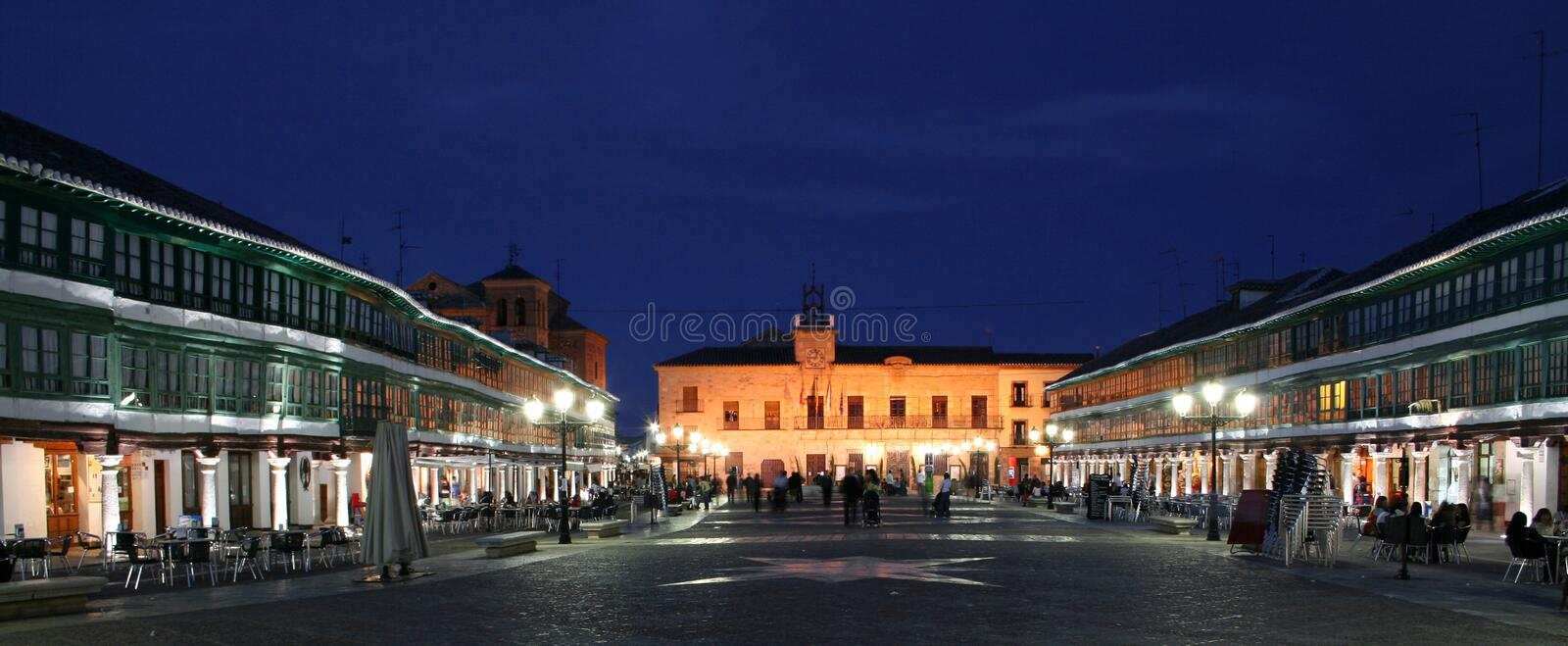 Almagro Nightlife royalty free stock photos