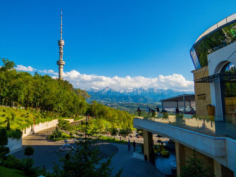 Almaty, au Kazakhstan image stock
