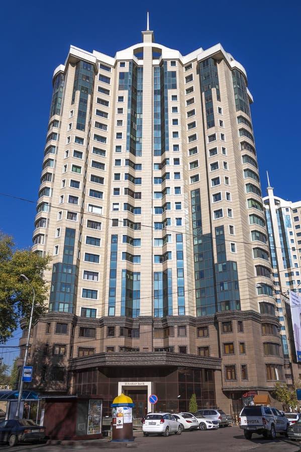 Almaty - centre capital photos stock