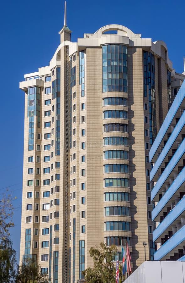 Almaty - centre capital images libres de droits