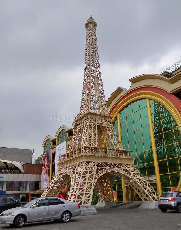 Download Almaty - Copie De Tour Eiffel Photo éditorial - Image du almaty, grand: 77152101