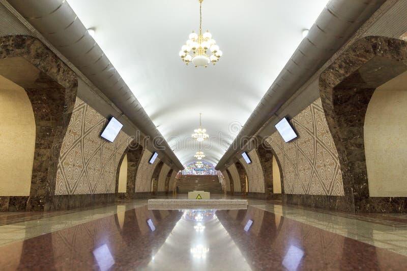 Almaty gångtunnelstation Almali Almaty Kasakhstan arkivfoton