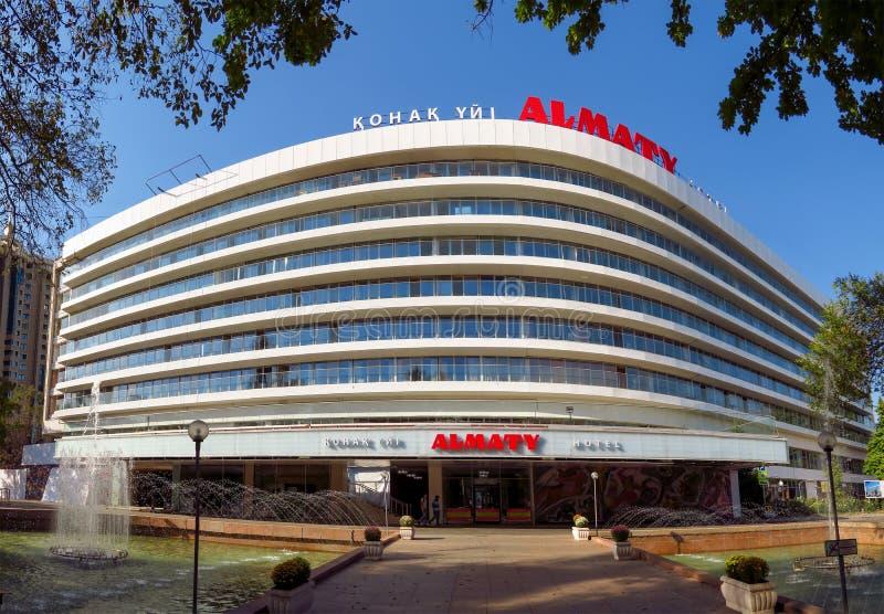 Almaty - hotel Almaty fotografía de archivo
