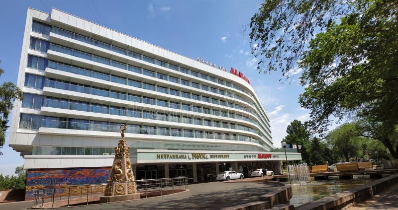 Almaty - hotel Almaty fotos de archivo