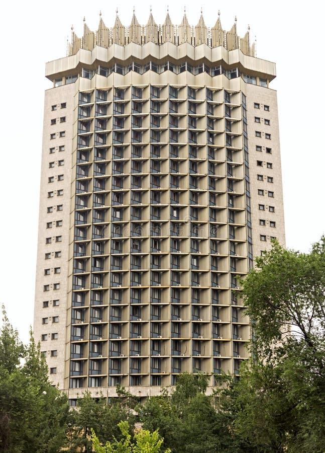 Almaty - hotel Kazajistán fotografía de archivo libre de regalías