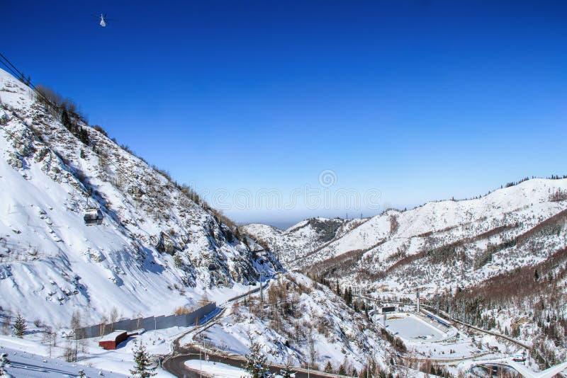 Almaty, il Kazakistan fotografie stock libere da diritti