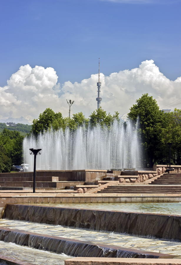 Download Almaty miasto zdjęcie stock. Obraz złożonej z silny, city - 65226088