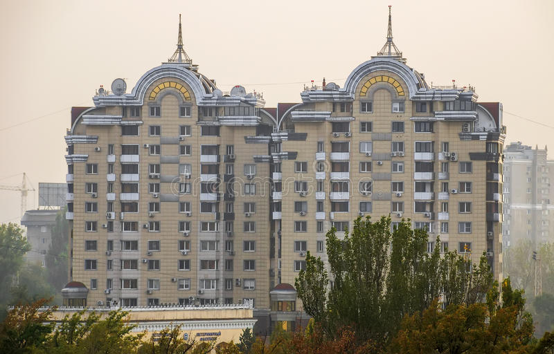 Almaty - Modern architecture royalty free stock photo